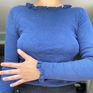 Gap Ruffle Sweater